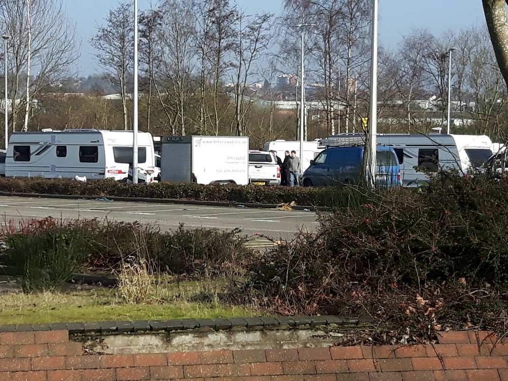 Traveller evictions in Sandwell - Penham Excel High Court Enforcement Officers and Enforcement Agents