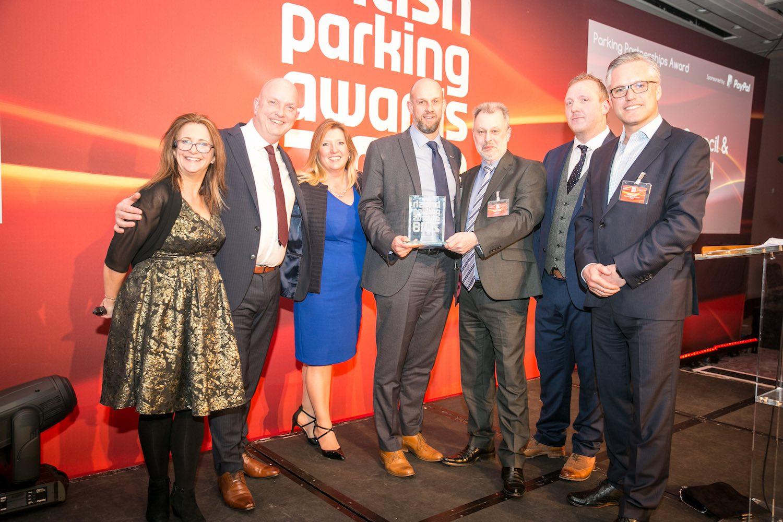 Penham Excel scoop 2018 Parking Partnerships Award