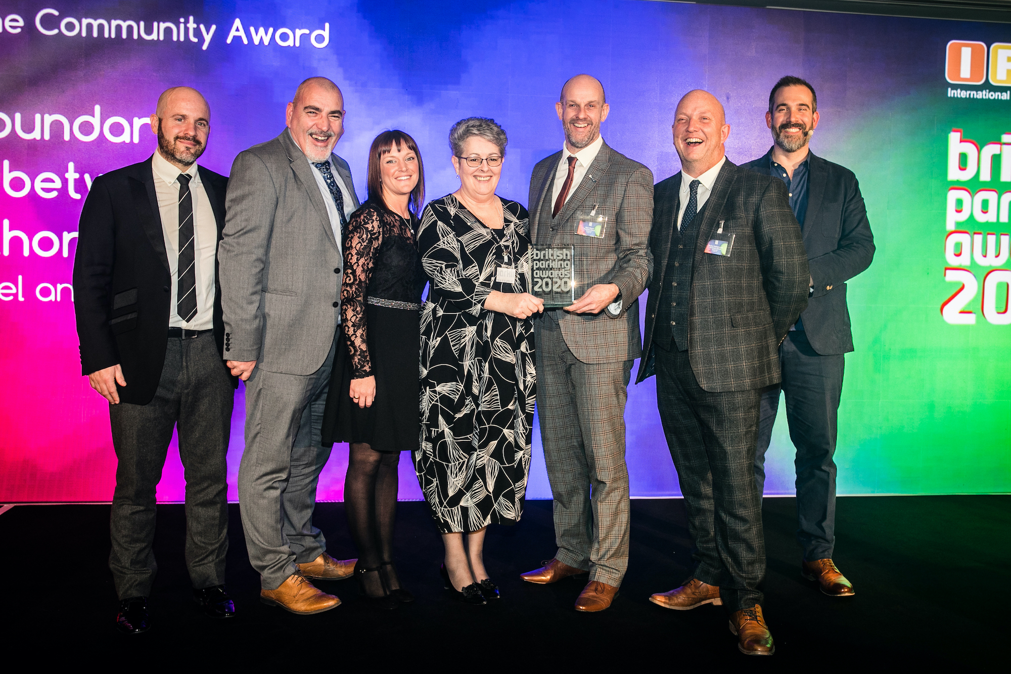 Penham Excel and Walsall Council scoop top award