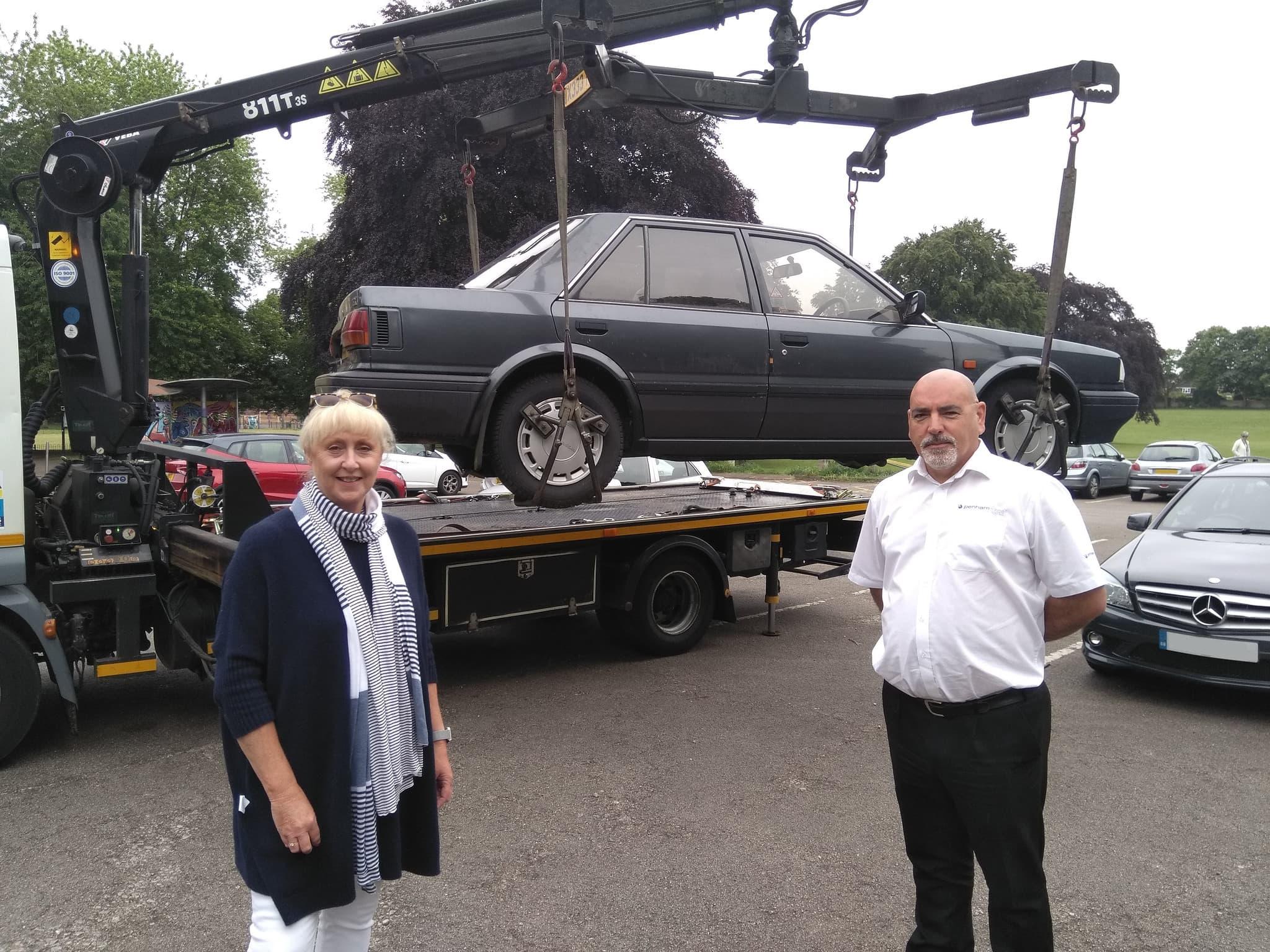 Penham help Dudley Council clamp down on untaxed vehicles - Penham Excel