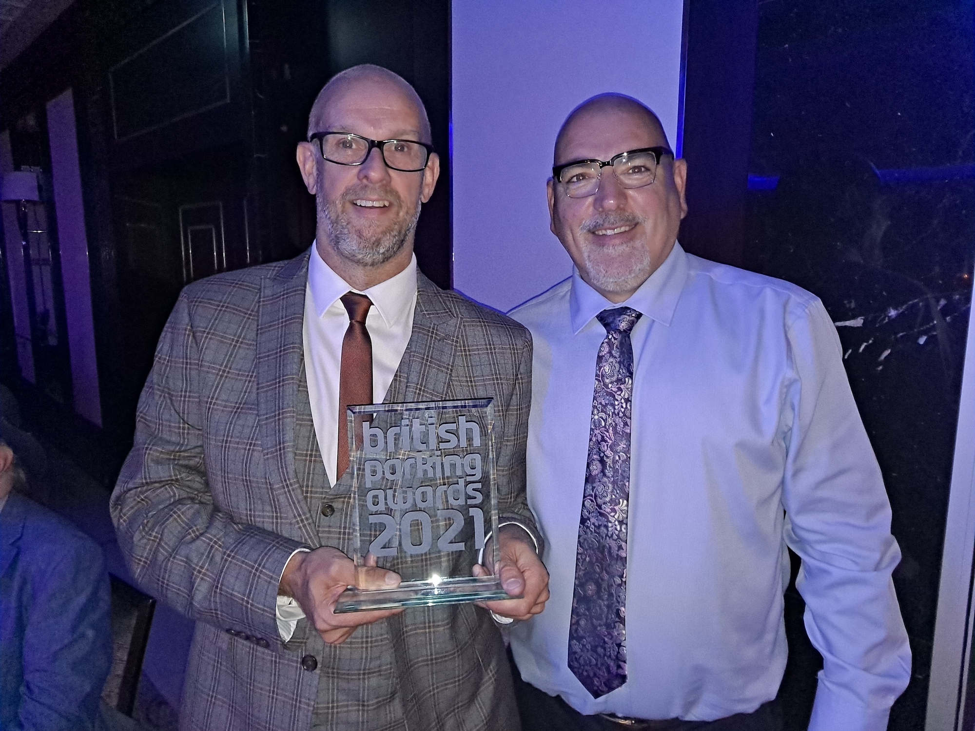 Another award for Penham Excel - British Parking Awards